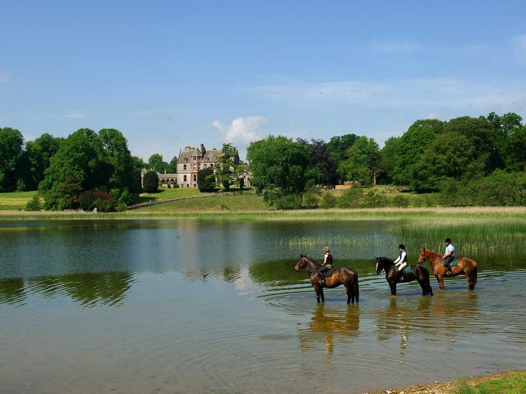BLOG-Castle-Leslie - horseriding at Castle Leslie